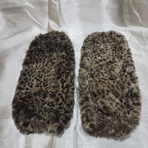 Faux Fur High to Knee Boot Covers/ Leg Warmers
